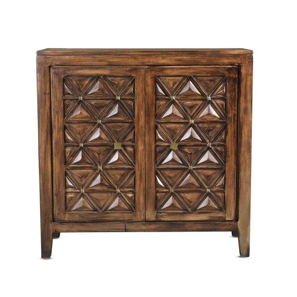 Gallia 2 Doors Apothecary Accent Cabinet by Bloomsbury Market Bloomsbury Market