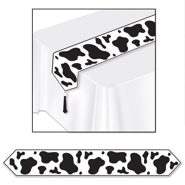 Cow Printed Table Runner (Set of 3) by East Urban Home