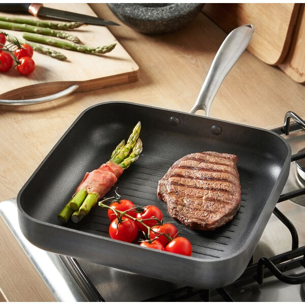 Ridged 10 Non-Stick Grill Pan by VonShef