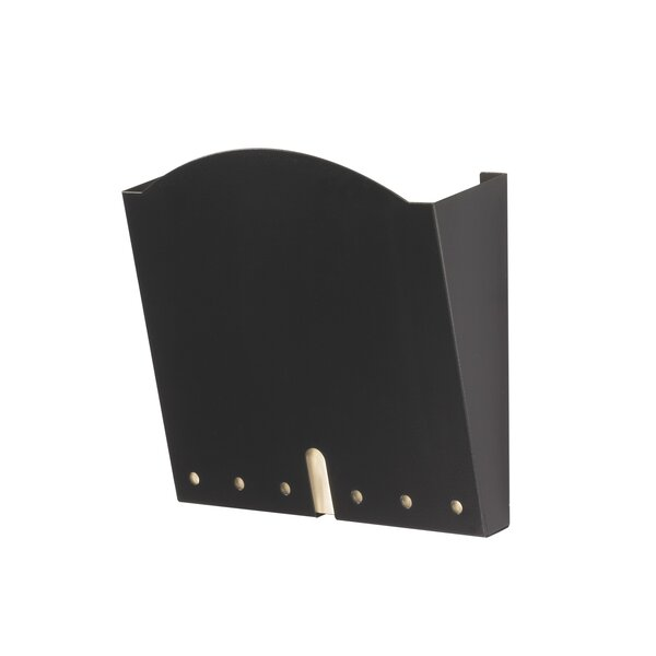 Hippa-Compliant Wall Pocket, Letter by Safco Products Company