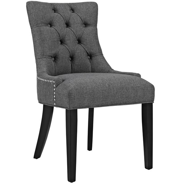 Modern Burslem Regent Upholstered Dining Chair By Lark Manor 2019 Sale