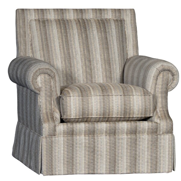 Cissell Swivel Armchair by Rosecliff Heights