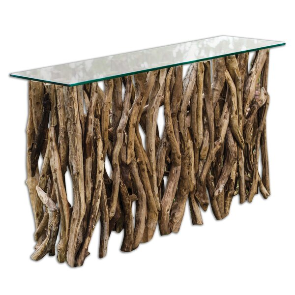 Talley 59-inch Solid Wood Console Table by Loon Peak Loon Peak