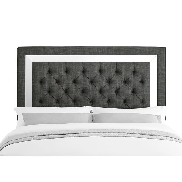 Neriah Upholstered Panel Headboard by Alcott Hill