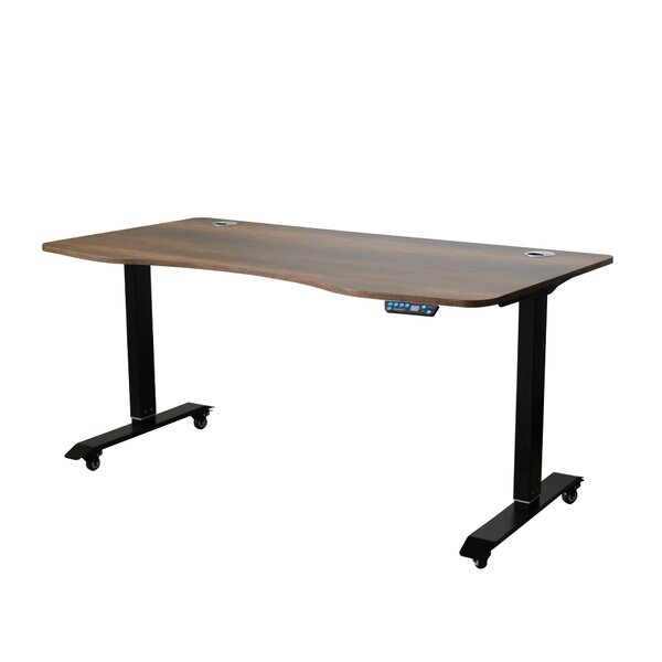 Ximena Ergonomic Height Adjustable Standing Desk by Symple Stuff