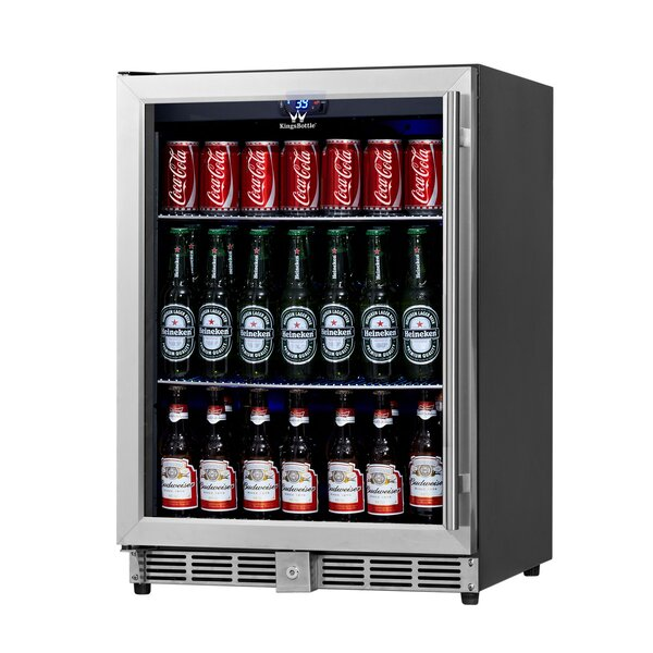 23.42-inch 5.37 cu. ft. Undercounter Beverage Center by Kingsbottle