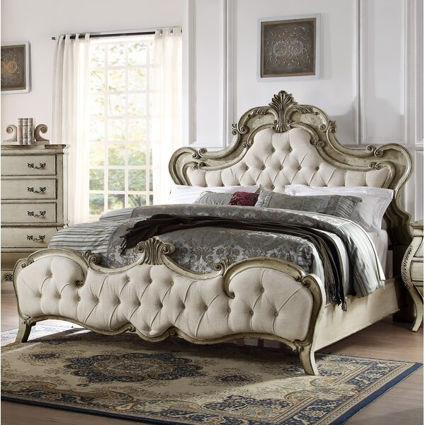 Rhinecliff Upholstered Standard Bed by Rosdorf Park