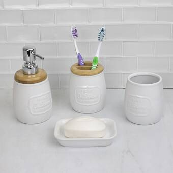 Bay Isle Home Tilley Natural Bamboo Gourd Shaped Toothbrush Holder Wayfair