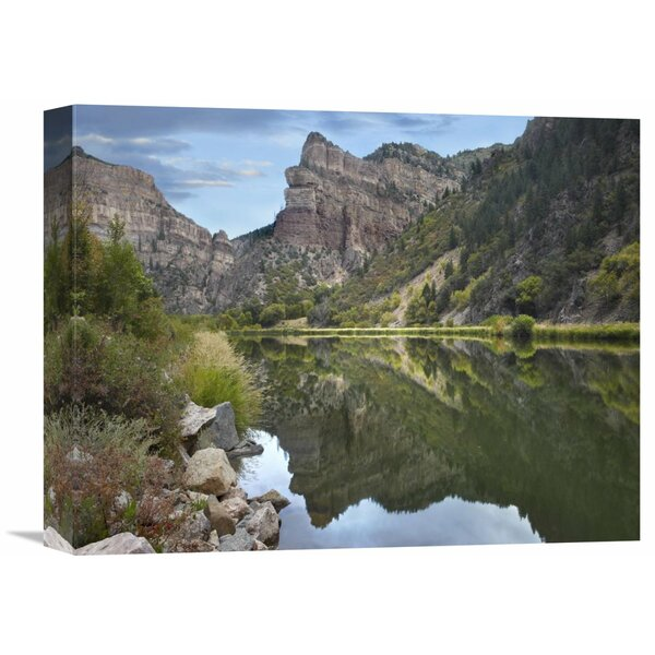 Nature Photographs Colorado River, Glenwood Canyon, Colorado by Tim Fitzharris Photographic Print on Wrapped Canvas by Global Gallery