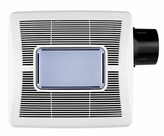 InVent Single-Speed  80 CFM Bathroom Fan with Light by Broan