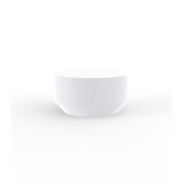 Vela Plastic/Resin Coffee Table by Vondom