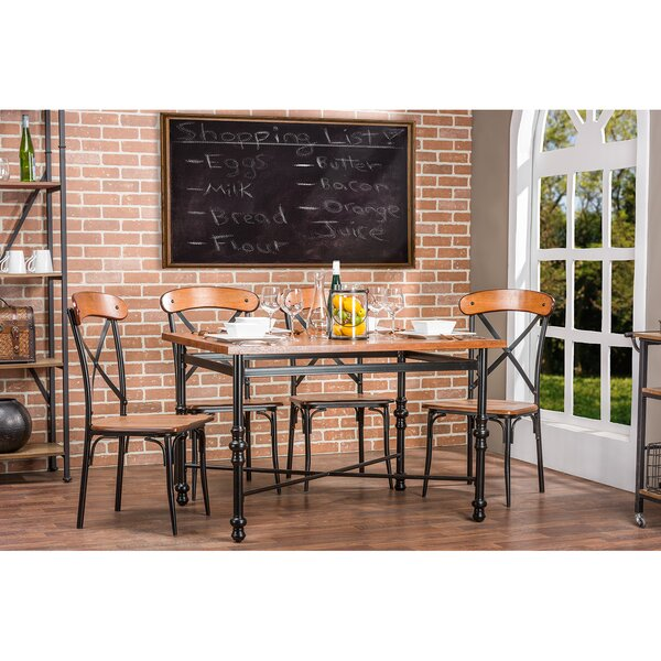Aanya 5 Piece Dining Set by 17 Stories
