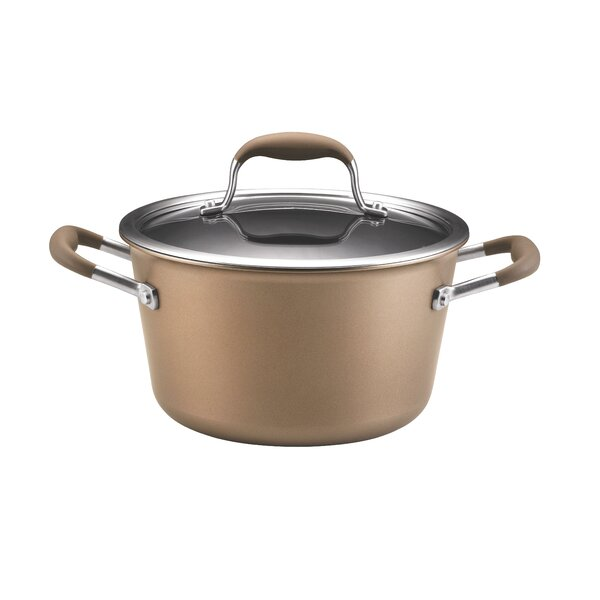 Advanced 4.5-qt. Tapered Stock Pot with Lid by Anolon
