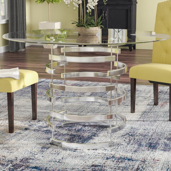 Best #1 Daphne Dining Table By Willa Arlo Interiors Sale