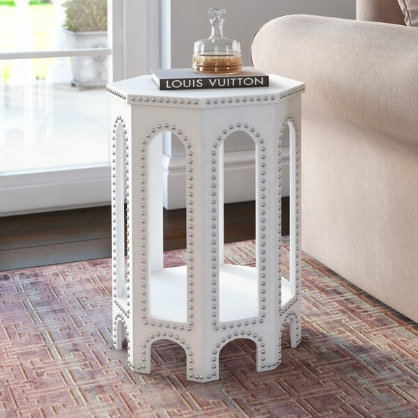 Nara Drum End Table With Storage By House Of Hampton