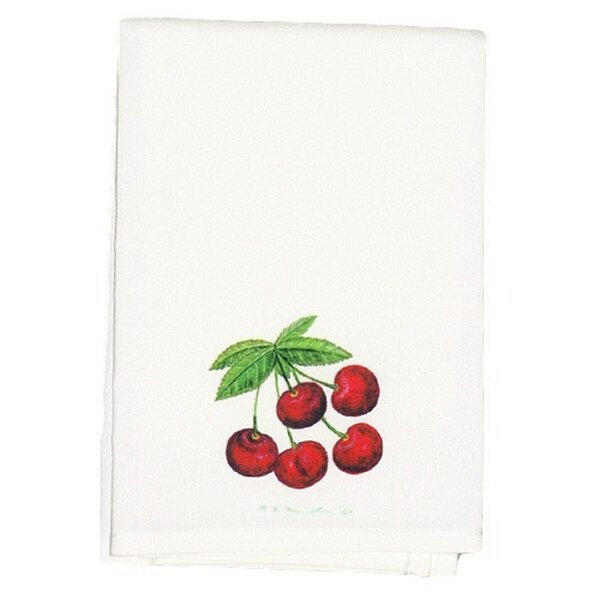 Simonds Cherries Hand Towel (Set of 2) by Winston Porter