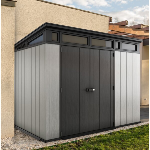 Artisan 9 ft. W x 7ft. 5 in. D Plastic Storage Shed by Keter
