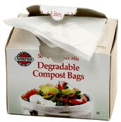 Degradable 1.58 Gal. Compost Bag (Set of 50) by Norpro