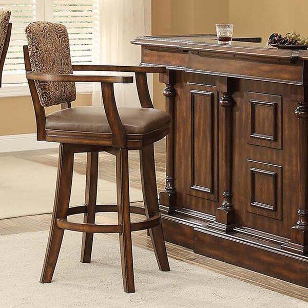 Trafalgar 30.7 Swivel Bar Stool by ECI Furniture