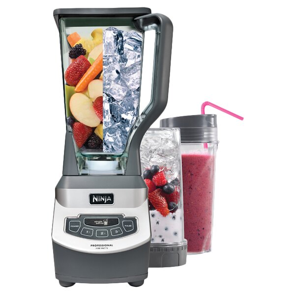 Professional Blender with Single Serve Attachment by Ninja