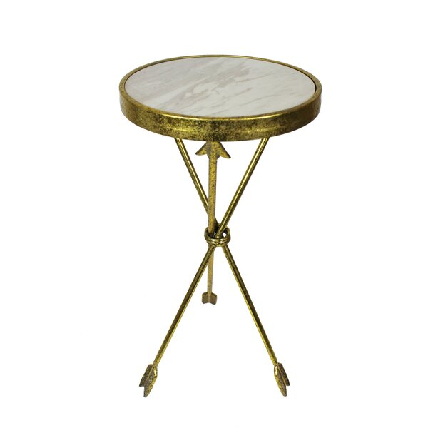 Crosstown Arrow End Table by Bungalow Rose