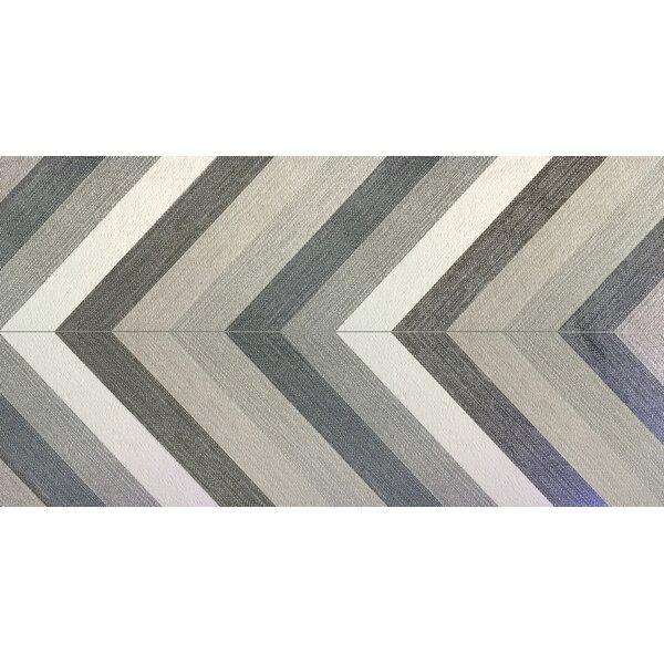 Dunham 23 x 47 Porcelain Field Tile in Chevron by Emser Tile