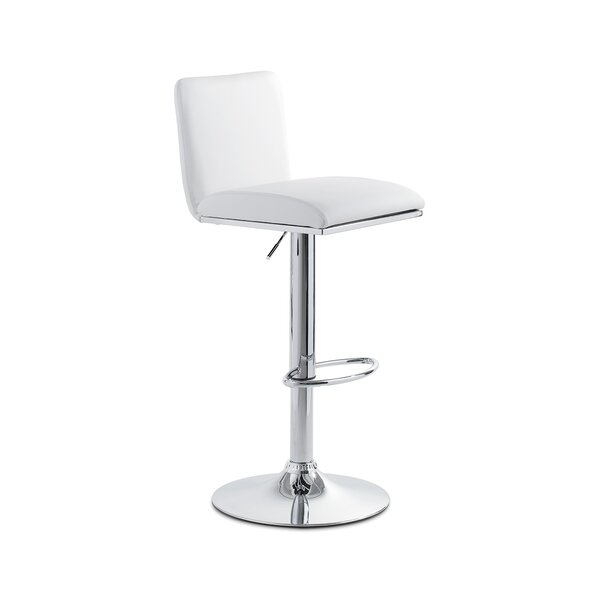 Lin Adjustable Height Swivel Bar Stool by YumanMod