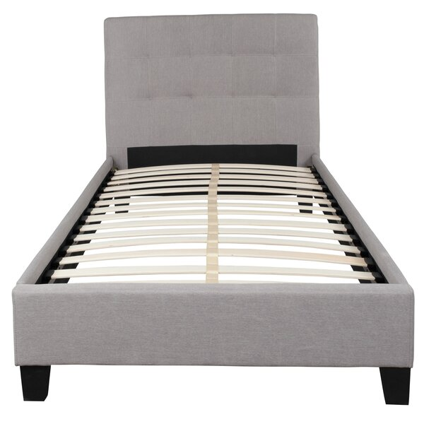 Pittard Upholstered Platform Bed by Ebern Designs