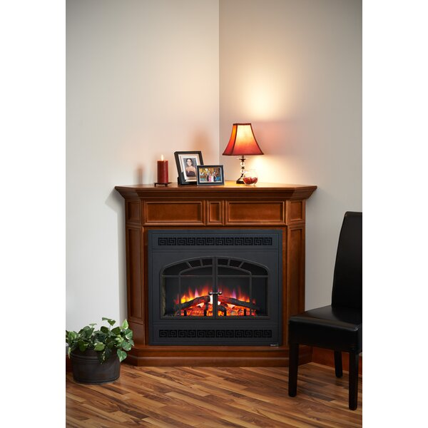 Columbia Corner and Riser Fireplace by The Outdoor GreatRoom Company