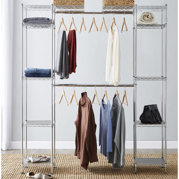 Wayfair Basics 58W - 83W Closet System by Wayfair Basics™