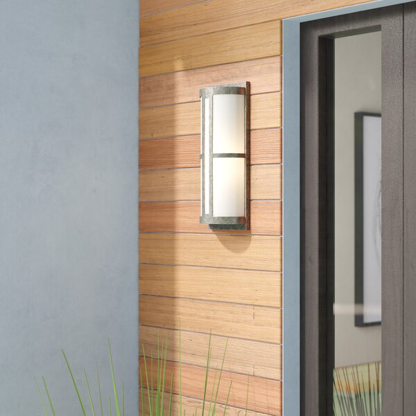 Chadbury 1-Light Outdoor Sconce by Wade Logan