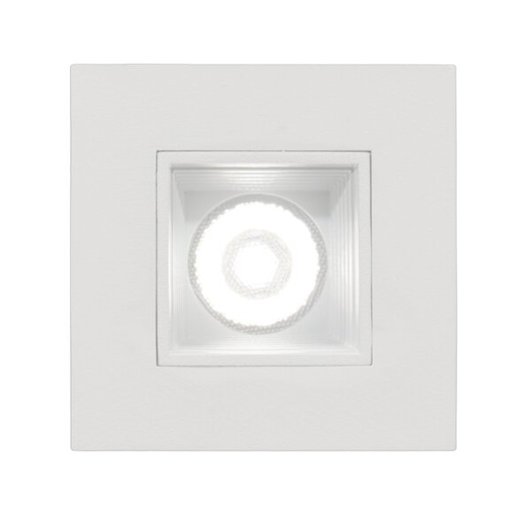 Square LED Downlight Recessed Housing by NICOR Lig