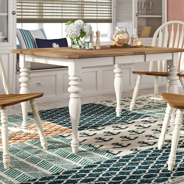 Bridgeview Extendable Dining Table by Beachcrest Home