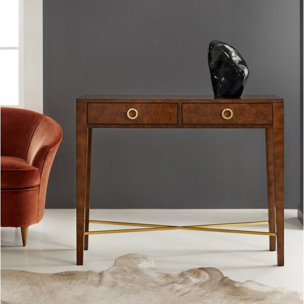 Modern History Home Brown Console Tables