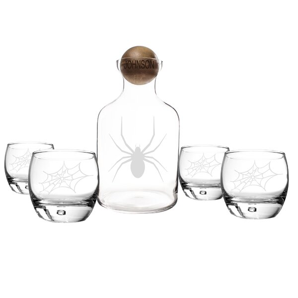5 Piece Decanter Set by Cathys Concepts