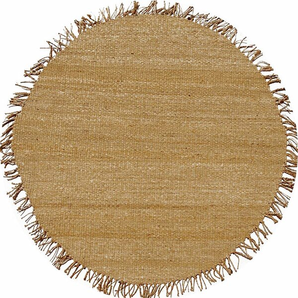 Julia Natural Brown Area Rug by Bay Isle Home
