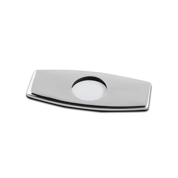 Bathroom Vessel Vanity Sink Faucet 4 Hole Cover Deck Plate Escutcheon by Luxier
