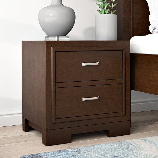 Voigt 2 Drawer Nightstand by Brayden Studio