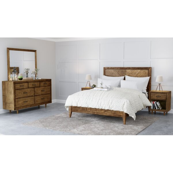 Ian Platform 5 Piece Bedroom Set by Modern Rustic Interiors