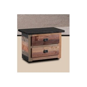Cilley 2 Drawer Nightstand by Harriet Bee