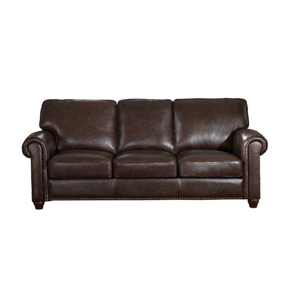 Top Recommend Tawanda Craft Leather Sofa New Deal Alert