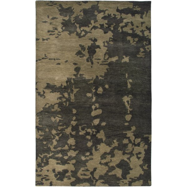 Cadiz Hand-Tufted Brown Area Rug by Meridian Rugmakers