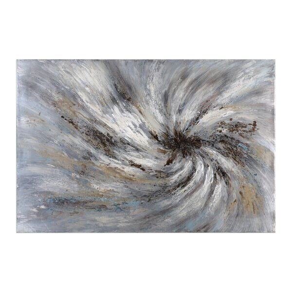 Vortex Modern Abstract painting by Corrigan Studio