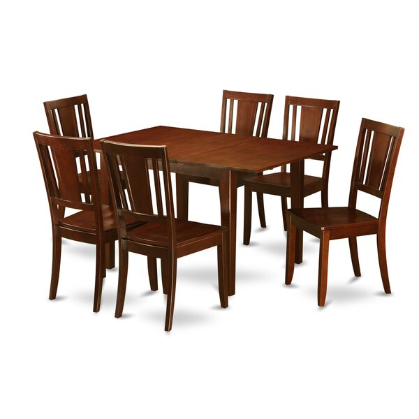 Picasso 7 Piece Extendable Dining Set by Wooden Importers