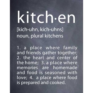 Kitchen by Susan Newberry Textual Art by Evive Designs