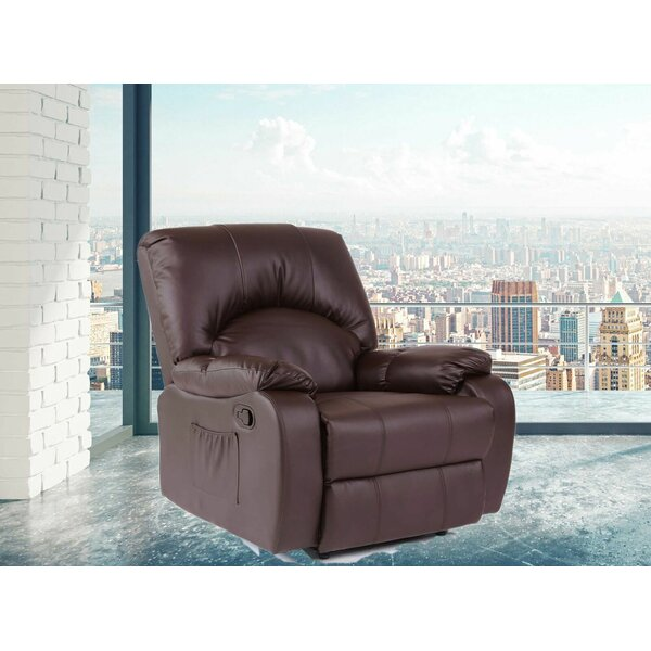 Modern Style Heated Massage Chair by Latitude Run