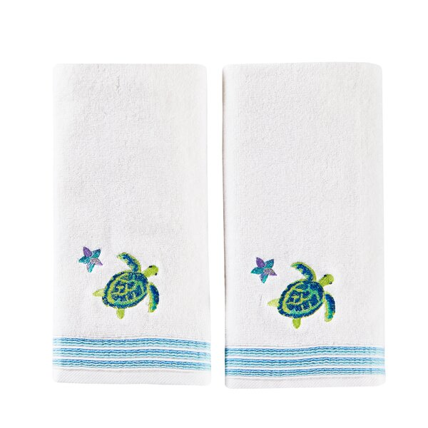 Zaliki Cotton Hand Towel (Set of 2) by Highland Dunes