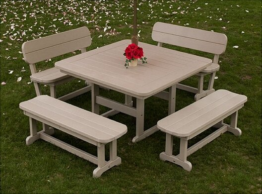 Park 3 Piece Dining Set by POLYWOOD®