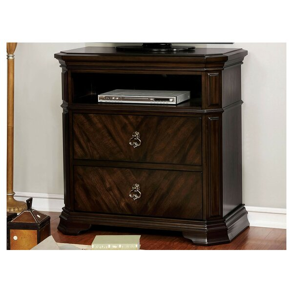 Robert 2 Drawer Media Chest By Fleur De Lis Living