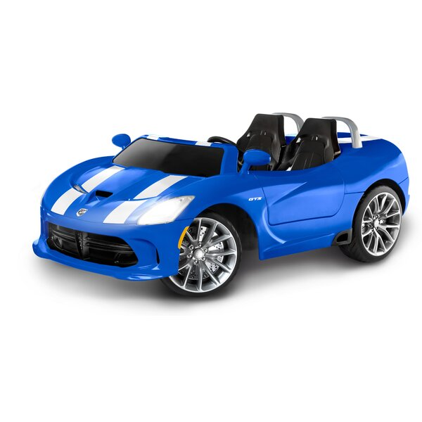 Dodge+Viper+SRT+12V+Battery+Powered+Car kid trax dodge viper srt 12v battery powered car & reviews wayfair kid trax dodge ram wiring diagram at reclaimingppi.co